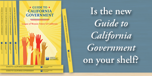guide to california government, books, civic education, nonpartisan, league of women voters, amazon