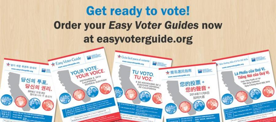 Easy Voter Guide California, voting, elections, cavotes, civic education, baloot measures