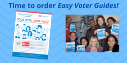 Order Easy Voter Guides for the November Election, cavotes, voter guide, California