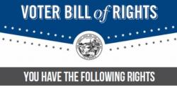 Voter Bill of Rights, voting, elections, california, rights, league of women voters