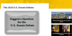 US Senate Debate, Harris, Sanchez, democrats, CAElections, debate, California