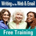 smiling women invite you to register