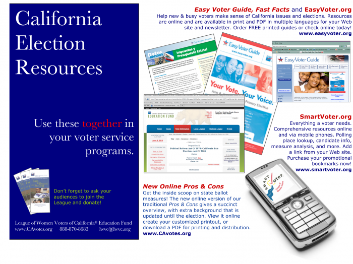 california election resources