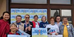 Schools and communities first petition drive